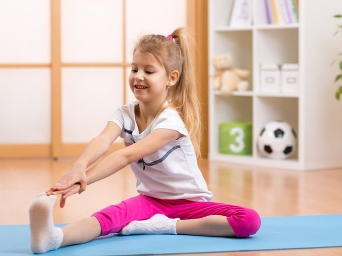 физкультура в детсаде