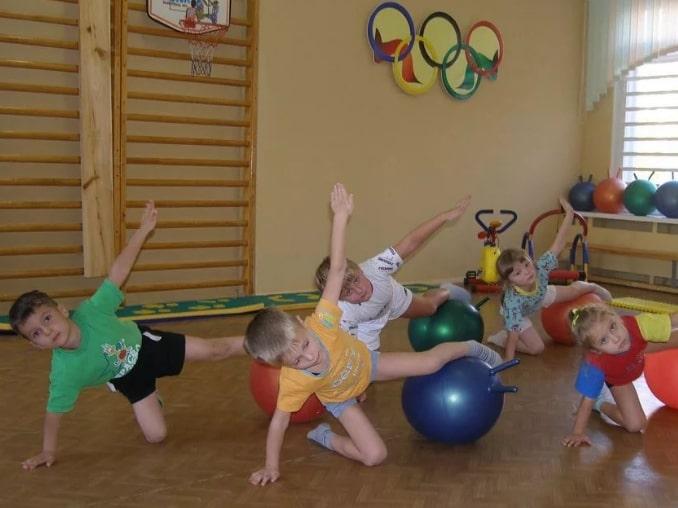 спорт в детсаде